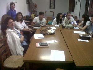 Foto retiro Pentecostés