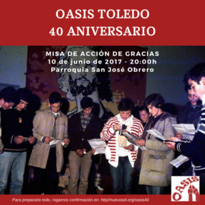 Oasis Toledo 40 aniversario